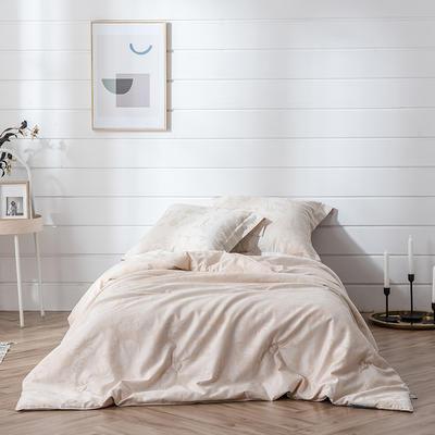 2019新款-彩棉蚕丝被被子被芯 150x200cm3斤 彩棉蚕丝被