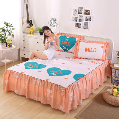 2018新款单床裙 120cmx200cm 恋心语