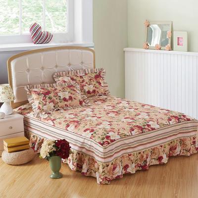2018新款单床裙 120cmx200cm 胭脂浮华