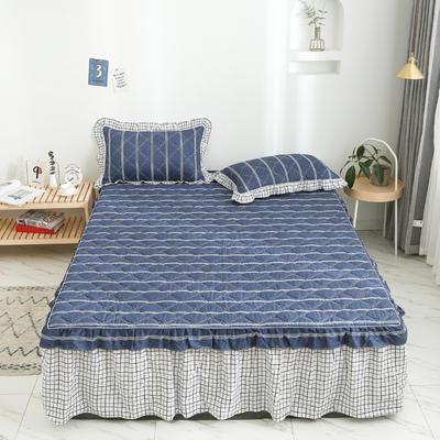 2020新款12868韩版单品系列-单品加棉床裙 150cmx200cm 芬迪