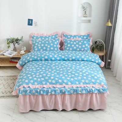 2020新款12868韩版单品系列-单品夹棉被套 200X230cm 金蕊花香