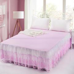 2018新款漫纱床裙 200cmx230cm 粉色
