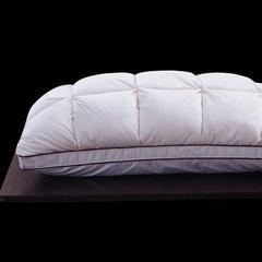 2018新款羽绒枕 法式立体扭花羽绒枕48*74cm
