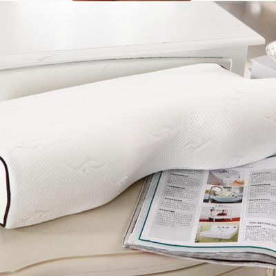 伟邦枕芯 小提花蝶形枕 空气层小提花蝶形磁疗枕