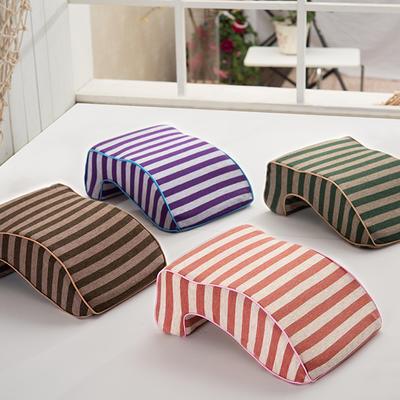 伟邦枕芯 无印良品风格 条纹 午睡趴趴枕 条纹午睡枕