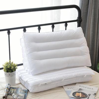秋冬新款专版羽丝绒枕 PE复合保健枕(48*74cm) PE复合保健枕