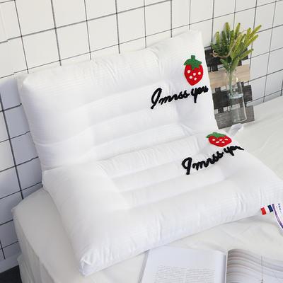 2019新款草莓水洗枕(48×74) 草莓