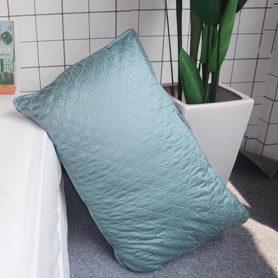 2019新款60长绒棉羽丝绒(48×74) 绿色