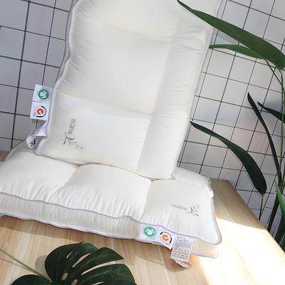 2019新款板蓝根四分区魔方枕(48×74㎝高度10㎝) 板蓝根四分区魔方枕