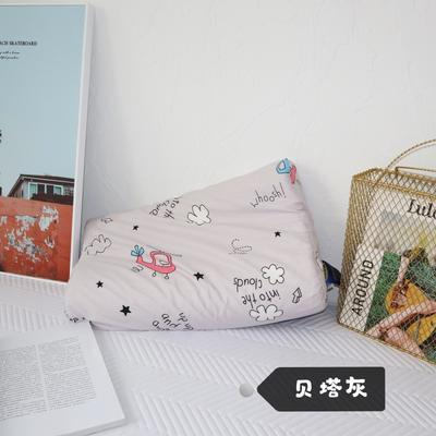 2020新款青少年学生乳胶枕/30×50㎝ 贝塔灰
