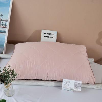 2020新款艾草抗菌护理枕-48×74㎝/只 粉色