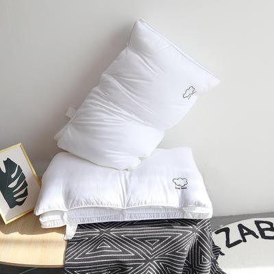 2021新款刺绣云朵二合一子母可拆卸枕枕头枕芯 48*74㎝
