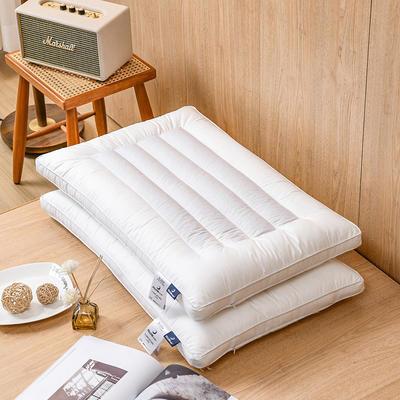 2021新款荞麦立体低枕枕头枕芯 白