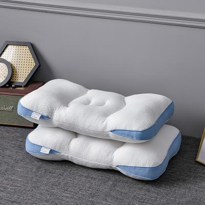 2021新款针织棉笑脸枕枕头枕芯 白
