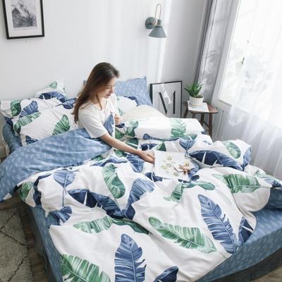 2019新款-13372纯棉四件套 1.5m(5英尺)床 原野