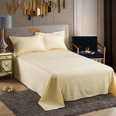 2019新款-60长绒棉单品床单 160*250cm 罗宾-香槟
