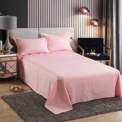 2019新款-60长绒棉单品床单 245*250cm 罗宾-玉色