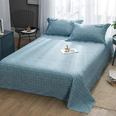 2019新款-纯棉床单 245cmx250cm 典雅麦穗 绿