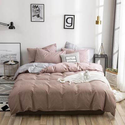2020新款-13372纯棉四件套 床单款三件套1.2m(4英尺)床 12悠闲格调