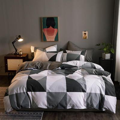 2020新款-13372纯棉四件套 床单款四件套1.5m(5英尺)床 17多明戈