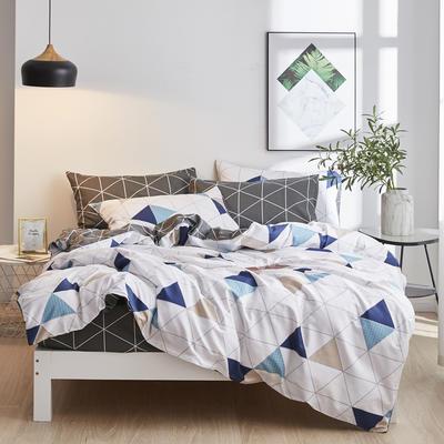 2020新款-13372纯棉四件套 床单款四件套1.5m(5英尺)床 19莫斯