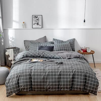 2020新款-13372纯棉四件套 床单款四件套1.5m(5英尺)床 24慕尼黑
