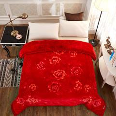 云毯-美丽印象系列 200cmx230cm 云毯-大红