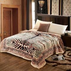 经典系列拉舍尔涤纶毯 195cm×230cm±5 1365米粽