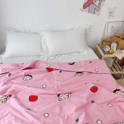2019新款-40S贡缎纯棉夏被 110×150cm 旺仔