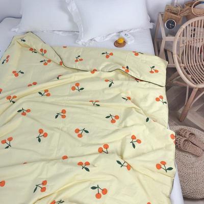 2019新款-40S贡缎纯棉夏被 110×150cm 小枇杷