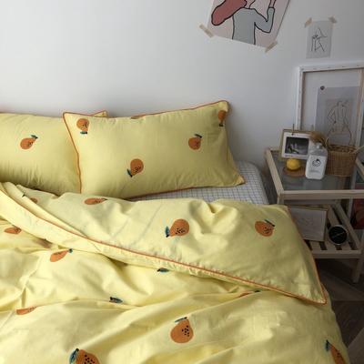 2019新款-卡通纯棉四件套 1.5m(5英尺)床 小梨子