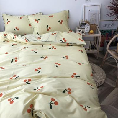 2019新款-卡通纯棉四件套 1.5m(5英尺)床 小枇杷