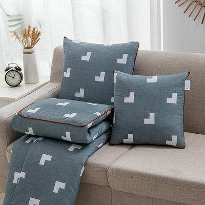 2020新款精舒棉系列抱枕被 40*40展开105*150cm 季候风