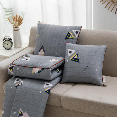 2020新款精舒棉系列抱枕被 40*40展开105*150cm 异度空间