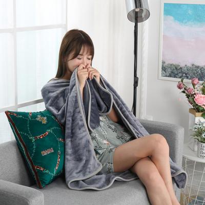 2021新款多功能披肩抱枕毯 45*45cm毯子150*200cm普通 雍容华贵