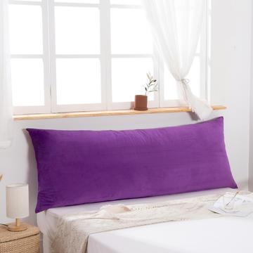 2019新款北欧床头靠垫纯色双人枕头大靠背卧室网红公主风床上抱枕长条靠枕