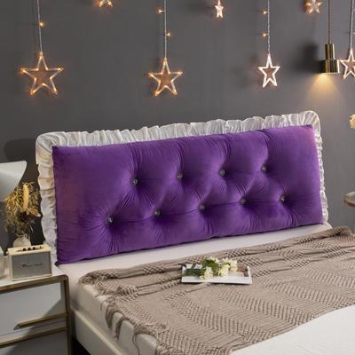 2020新款韩版床头靠垫 1.0m 紫色