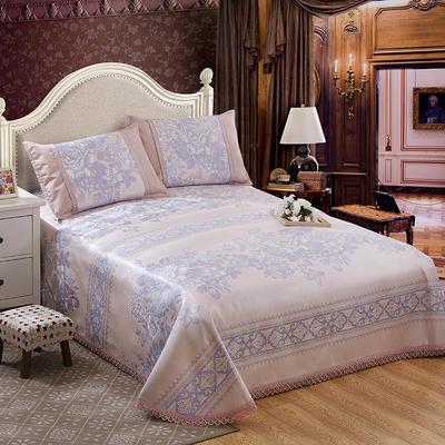 水洗提花冰丝席床单三件套 250*250cm 富丽堂皇
