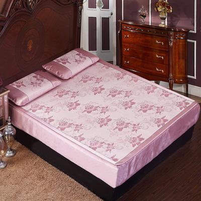 2020新款床笠床包款凉席 150*195 紫色魅影(床笠)