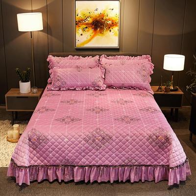 2019新款水晶绒床盖款 单床盖:245cmx250cm 欢乐颂