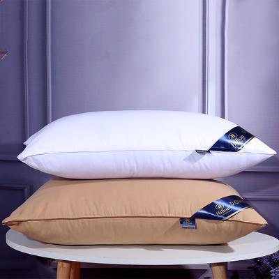 枕头枕芯枕头芯 低枕驼色