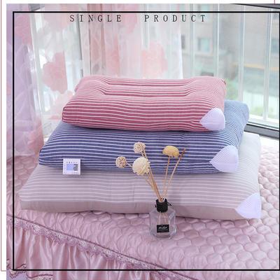 水洗棉枕头枕芯 粉色30*50
