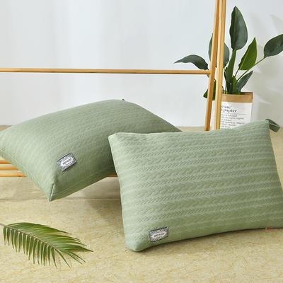 2020新款枕芯-48*75cm/只 绿色