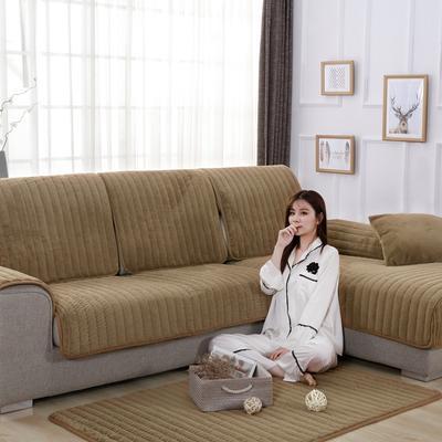 20189新款-沙发垫兔毛绒 70*70cm 兔毛绒-驼色