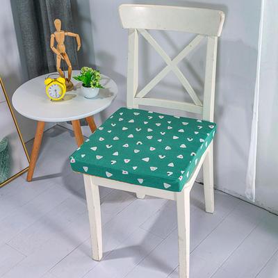 2020新品北欧现代办公室椅子学生凳子棉麻椅垫海绵坐垫 40*40cm5厘米厚 小粽子