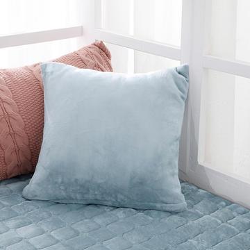 2020新款-法莱绒花边飘窗垫蒂芙系列单抱枕