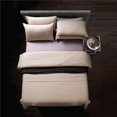 梦幻之城家纺现代简约床上用品色织棉麻四件套 1.8米床适用 雷蒙德