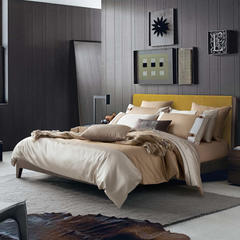 梦幻之城家纺欧式简约现代男士商务居家四件套六件套 1.5米床适用 布鲁斯金