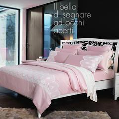 梦幻之城现代简约床上用品水洗真丝四件套六件套 1.8米床适用 普鲁登斯