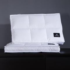 羽丝绒枕单只装 六宫格